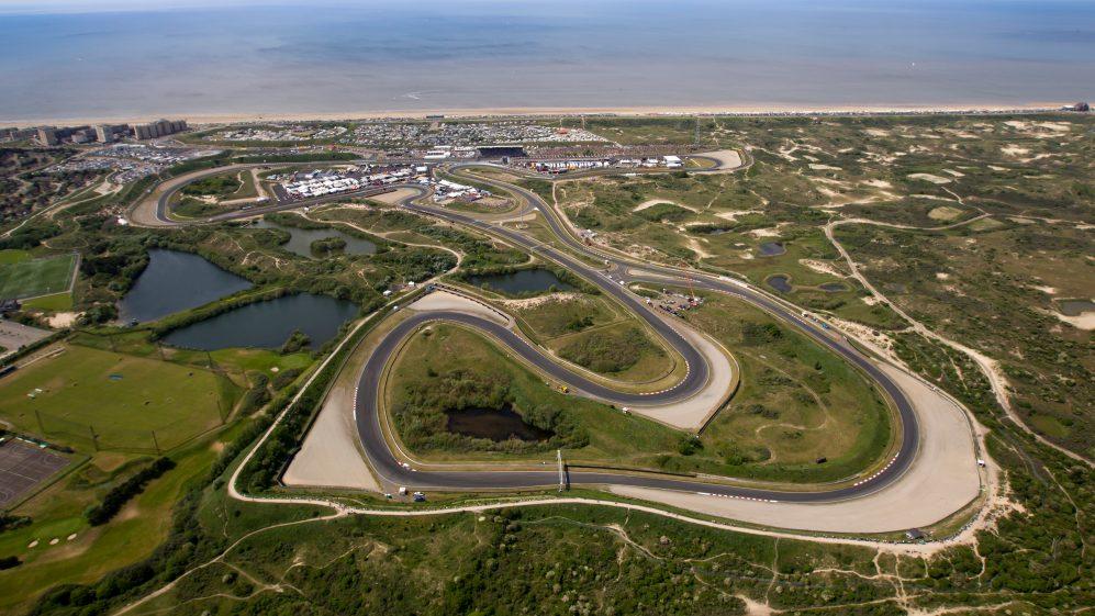 Circuit Zandvoort aerial