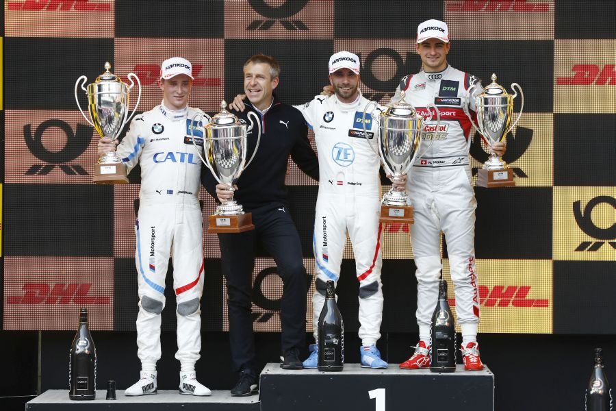 DTM Zolder 2019 race 1 podium