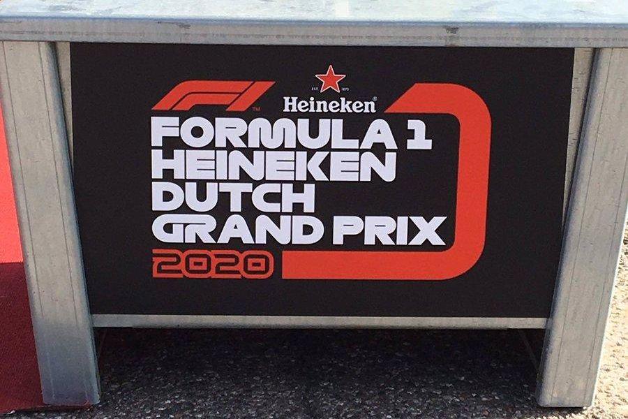 Formula 1 2020 Dutch Grand Prix announcement