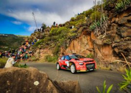 Pepe Lopez at Rally Islas Canarias
