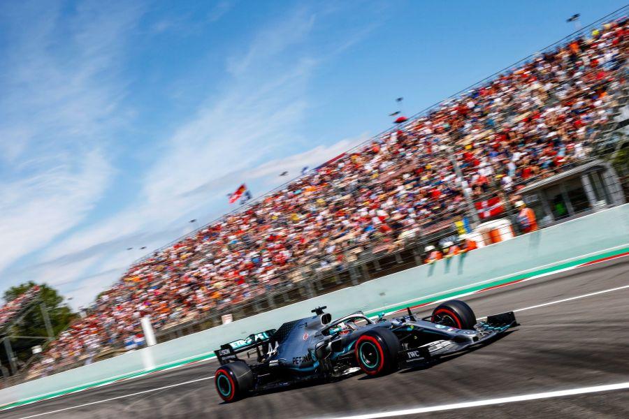 F1 Spanish Grand Prix Lewis Hamilton Mercedes