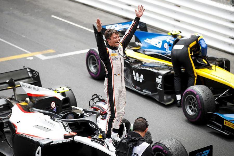 Formula 2 Monaco Nyck de Vries