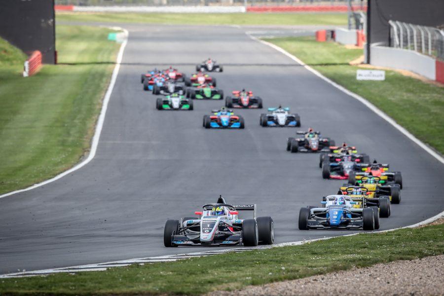 Formula renault Eurocup Silverstone