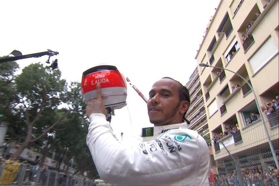 Lewis Hamilton 2019 Monaco Grand Prix
