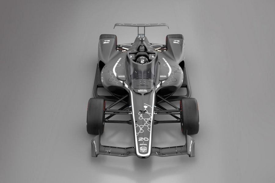 The Aeroscreen was developed by Red Bull Advanced Techonologies