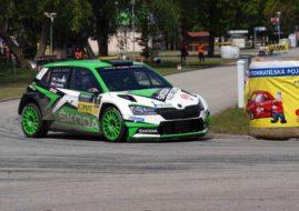 Rallye Česky Krumlov 2019, Jan Kopecky, Škoda Fabia R5 Evo