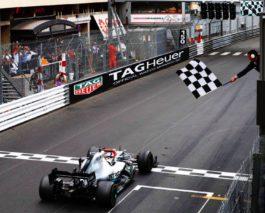 Lewis Hamilton wins the Monaco Grand Prix for the third time