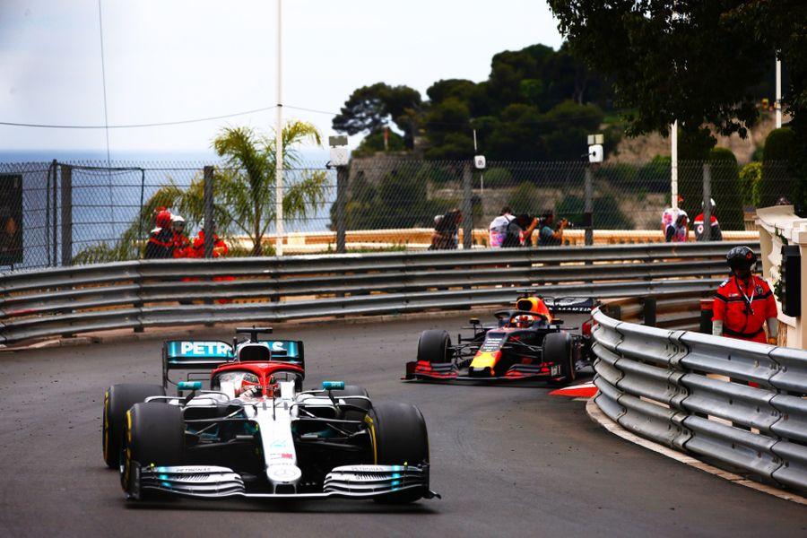 Monaco Grand Prix Lewis Hamilton-Max Verstappen