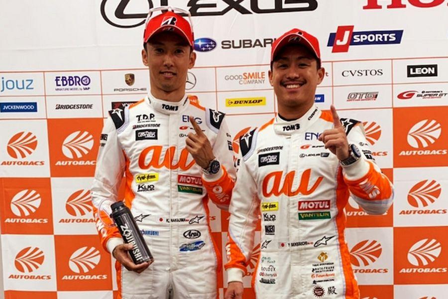 Super GT Suzuka, Kazuki Nakajima, Yuhi Sekiguchi
