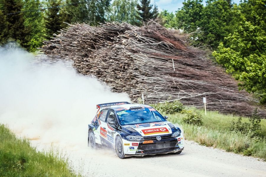 Oliver Solberg, Volkswagen Polo GTI R5, Rally Liepaja, European Rally Championship