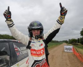 Fantastic victory for 17-year-old Oliver Solberg at Rally Liepaja