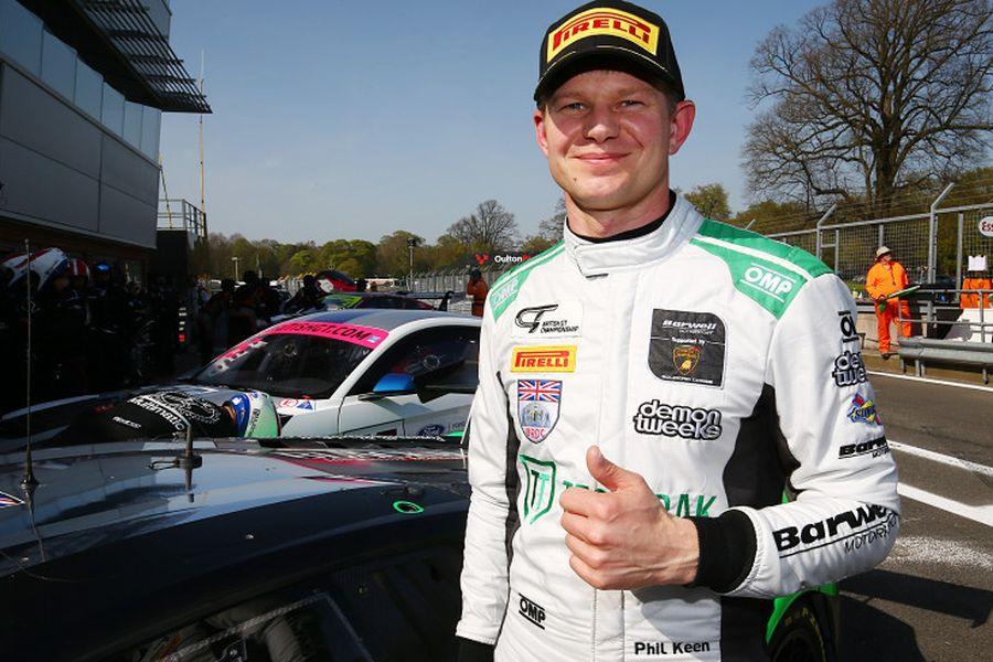 Phil Keen British GT