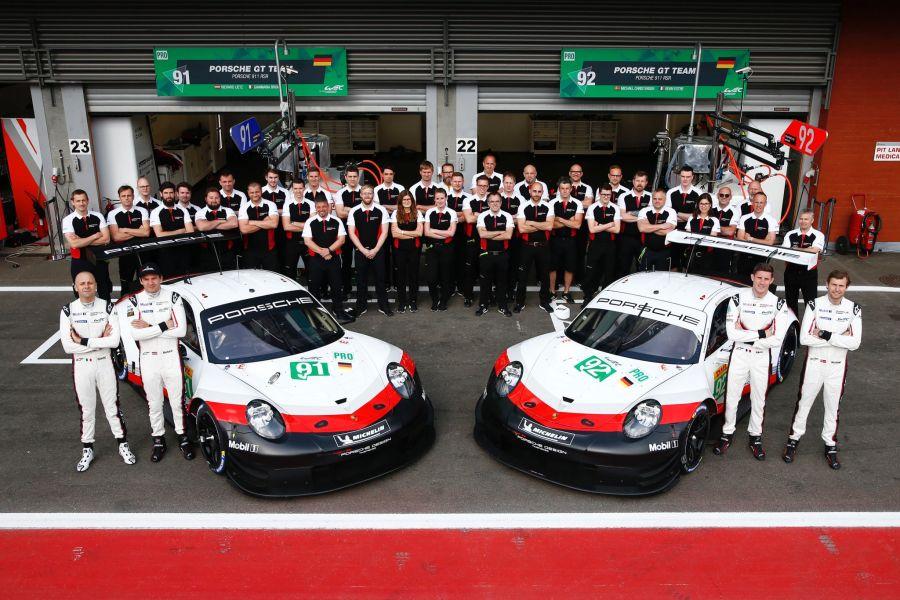 Porsche GT Team FIA WEC