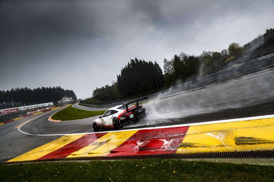 Porsche 911 RSR at Spa-Francorchamps