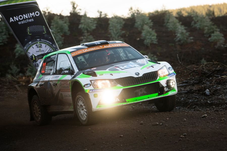 Kalle Rovanpera took the victory in the WRC2/WRC2 Pro category