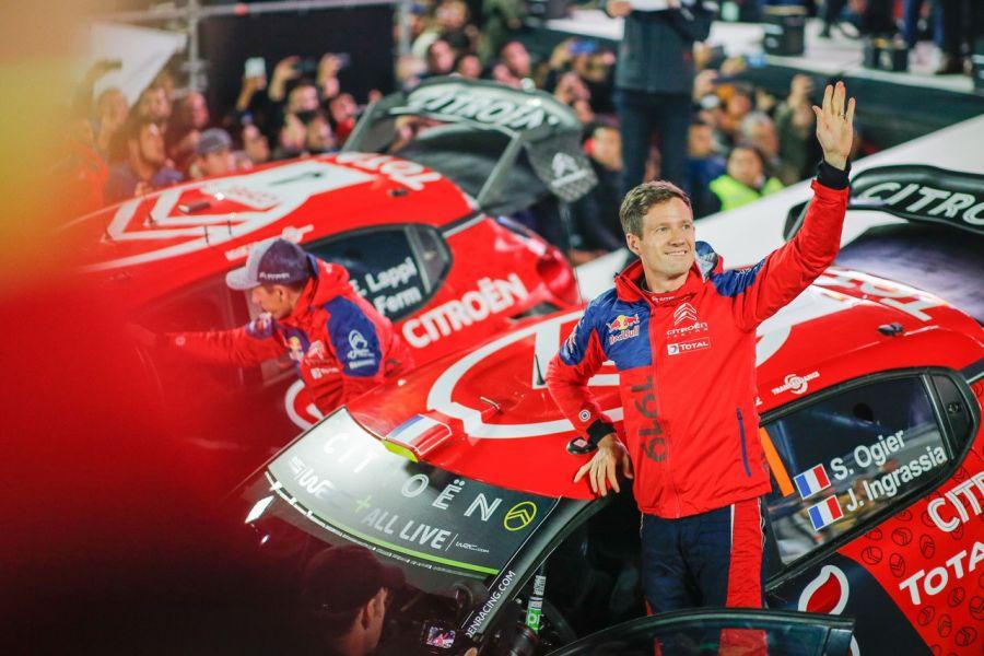 Sebastien Ogier is a new championship leader