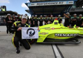 2019 Indianapolis 500, pole position for Simon Pagenaud (Team Penske)