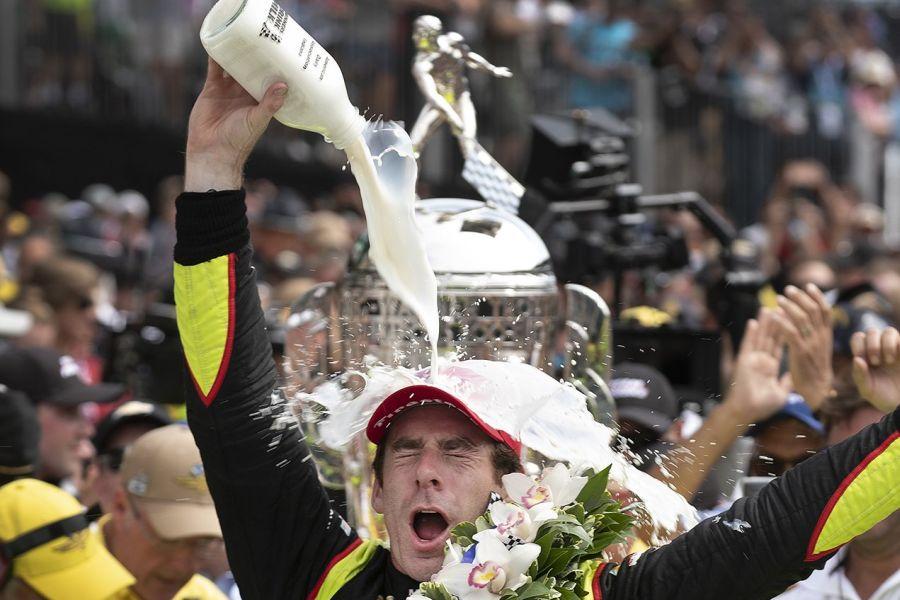 Simon Pagenaud Indy500 winner