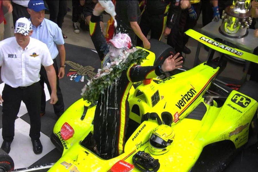 Simon Pagenaud Indy500 champ