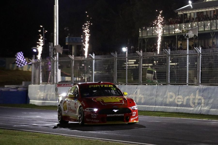 Shell V-Power Racing's Ford Mustangs triumphed in both races at Barbagallo