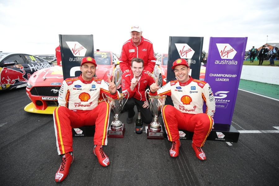 Supercars Winton DJR Team Penske