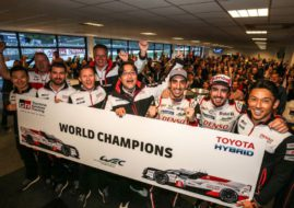 FIA WEC Toyota Gazoo Racing world champions