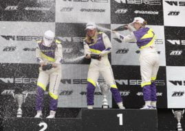 W Series Zolder podium