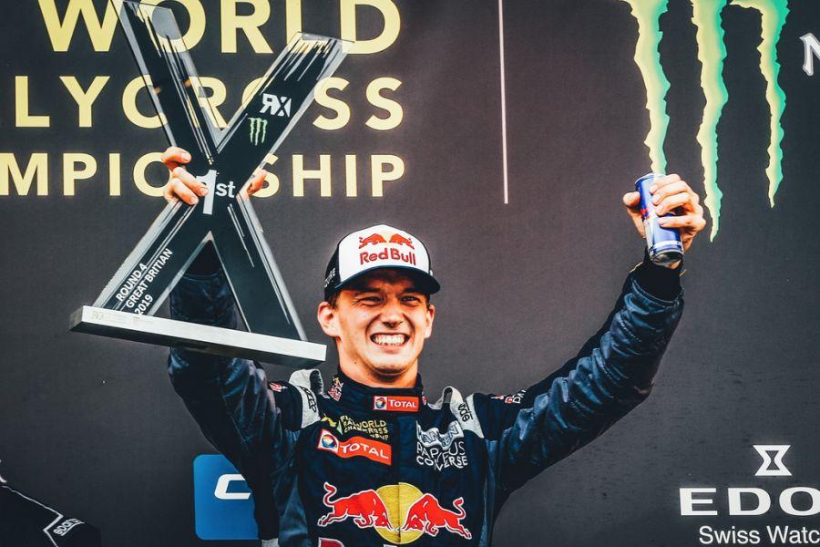 WorldRX Silverstone Timmy Hansen