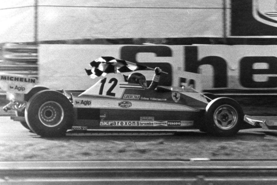 1978 Canadian Grand Prix, winner Gilles Villeneuve Ferrari