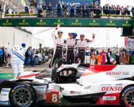 Toyota #8 crew repeats Le Mans 24h victory, #7 lost lead after 23 hours