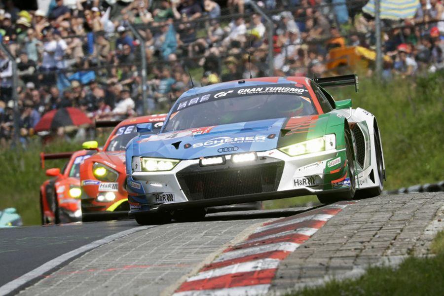 24h Nurburgring #4 Audi R8 LMS