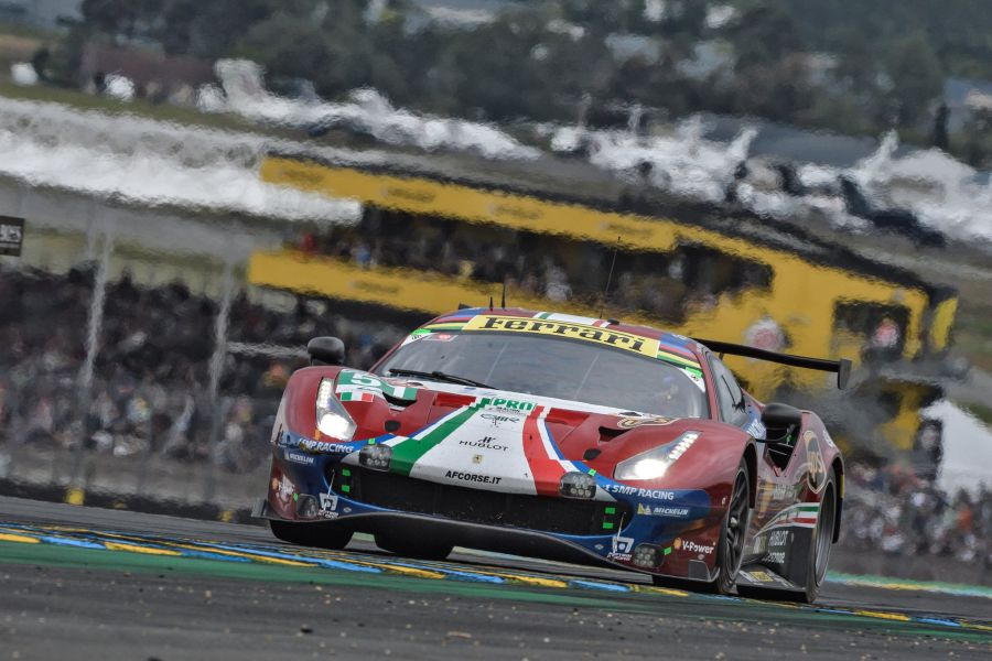 AF Corse gives the 36th Le Mans victory to Ferrari (9 outright wins and 27 class wins)