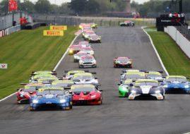 British GT Donington start