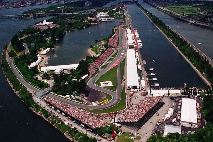 Formula 1 Canadian Grand Prix, Circuit Gilles Villeneuve Montreal
