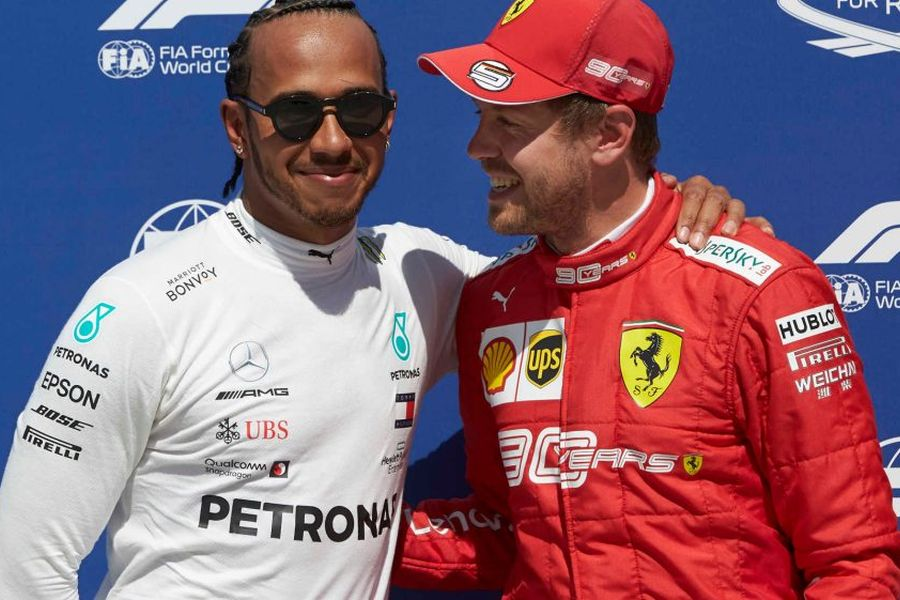 2019 Canadian Grand Prix, Lewis Hamilton, Sebastian Vettel