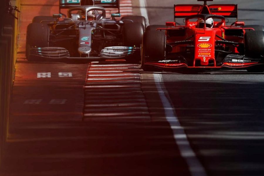 Canadian Grand Prix Vettel and Hamilton
