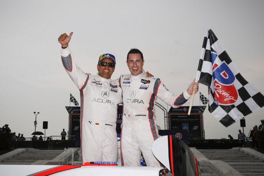 IMSA Detroit winners Dane Cameron and Juan Pablo Montoya