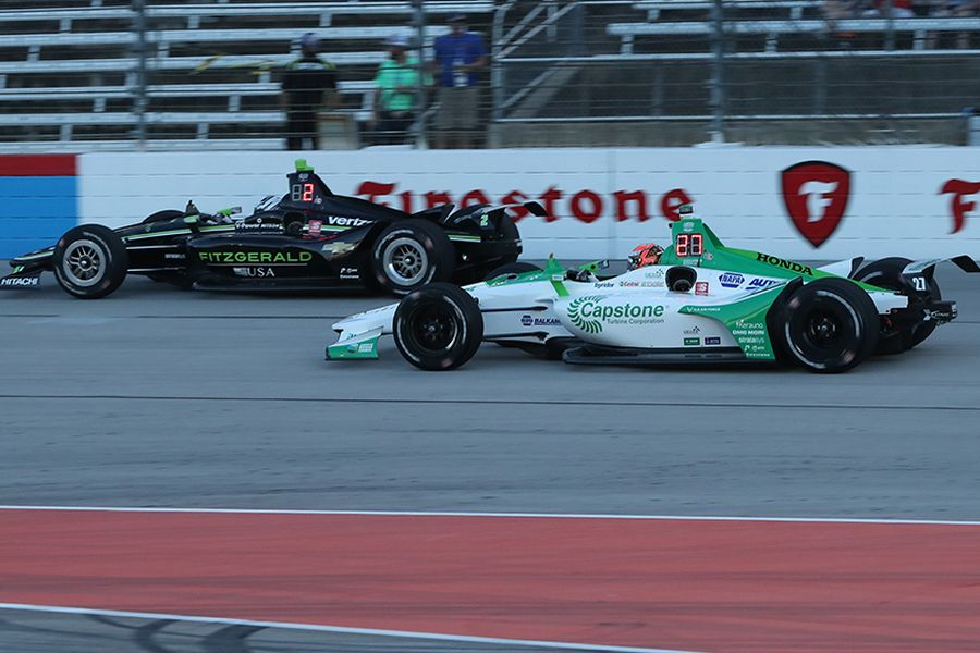IndyCar Series, Texas, Newgarden and Rossi