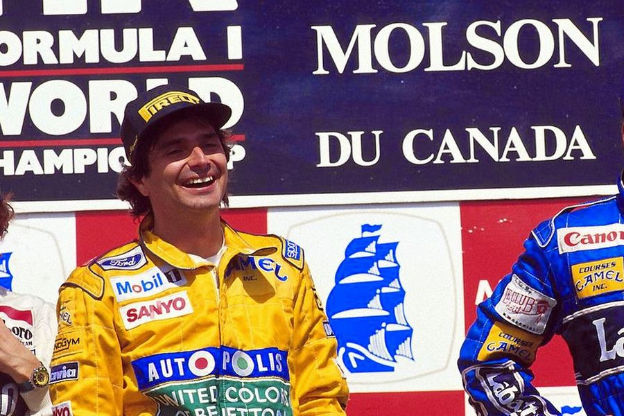 Nelson Piquet at the 1991 Canadian Grand Prix