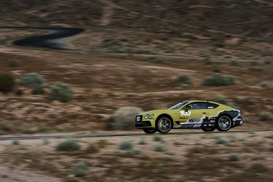 The #100 Bentley Continental GT will be driven by Rhys Millen at Pikes Peak