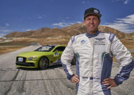 Rhys Millen, Bentley Continental GT. Pikes Peak