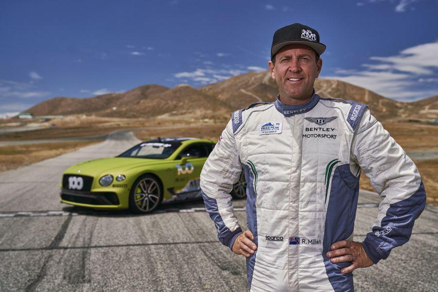 Rhys Millen, Bentley Continental GT. Pikes Peak
