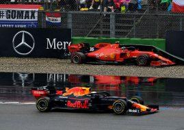 German Grand Prix, Max Verstappen, Charles Leclerc