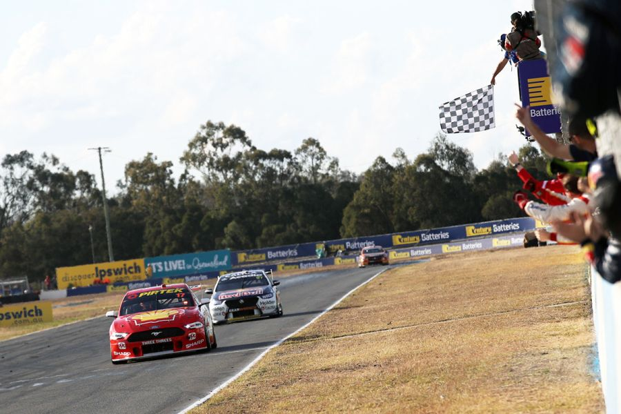 Supercars Ipswich McLaughlin Ford
