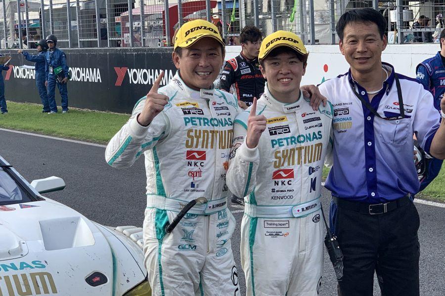 Hiroki Yoshimoto and Ritomo Miyata