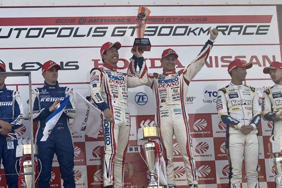SuperGT Autopolis GT500 podium