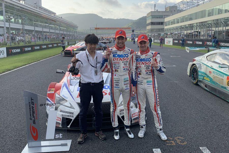 Yuichi Nakayama and Heikki Kovalainen
