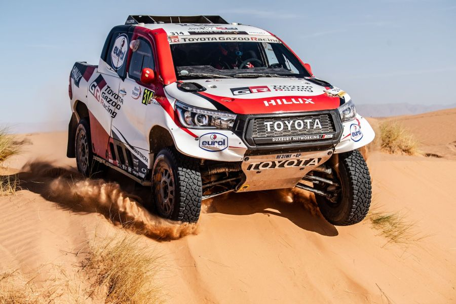 2019 Dakar Rally Toyota Hilux winner