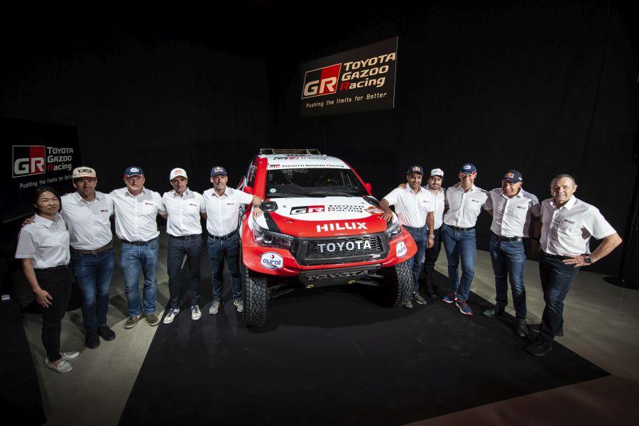 Toyota Gazoo Racing 2020 Dakar Rally Team
