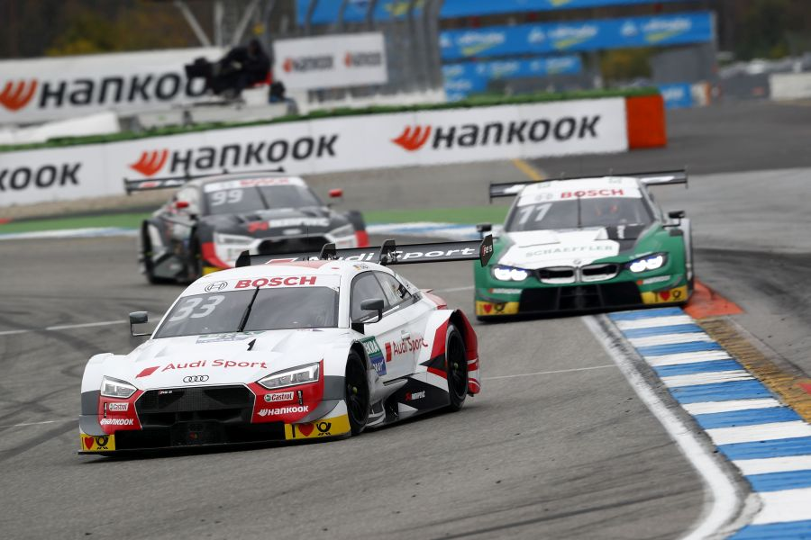 DTM champion Rene Rast closes the season with one more victory ...